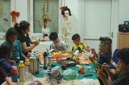 Halloween-Party im Life House