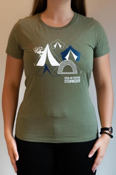 """T-Shirt """"Zelte"""" - tailliert"""