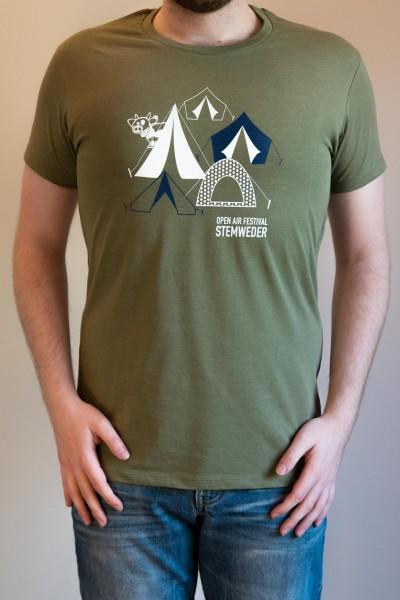 "T-Shirt ""Zelte"""