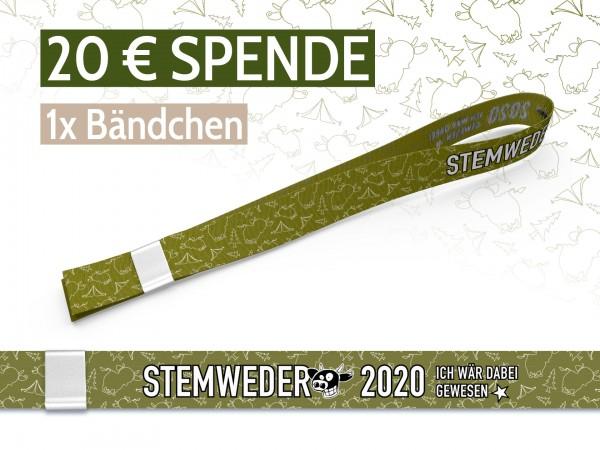 SPENDE 20 €
